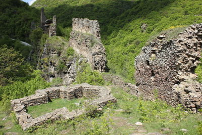 Fortress Markos Kale VranjeSerbia, ancient fortress, ruins, fortres near Vranje, south Serbia