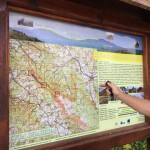 distance, trip, map, nature plan