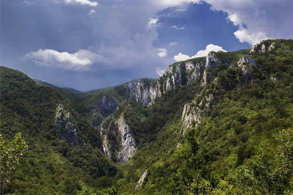 Lazars canyon, East Serbia canyon, Lazars canyon nature