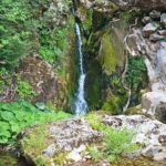 waterfall in front of the cave, waterfall Samar cave Serbia, waterfall, Kopajkošara Serbia waterfall