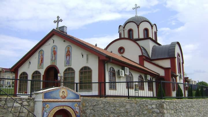Saint Panteleimon, St. Panteleimon church in Niš Serbia, Stefan Nemanja Fridrih Barbarosa meeting in Niš Serbia