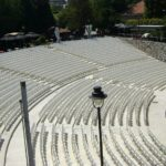 Amphitheatre in fortress Nis Serbia, concenrts place fortress Nis, Movie festival location fortress Nis