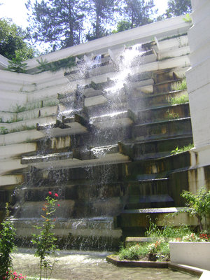 waterfall, spa of Nis, Hotel, relax, medicine, Spa of Nis southeast Serbia waterfall