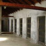 concentration camp cells, cells of WWII prisons