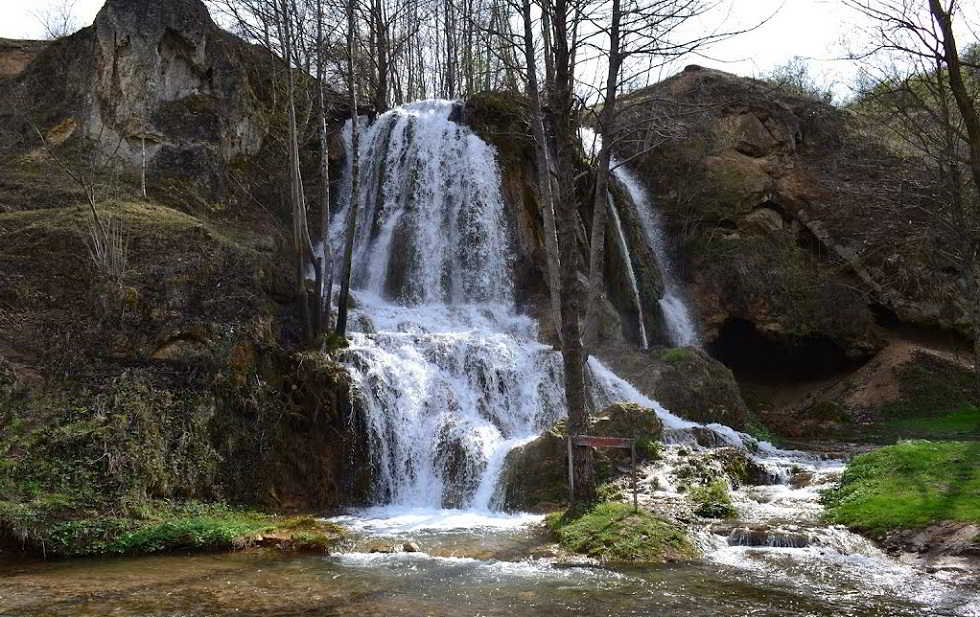 waterfall near knjazevac pirot road, stara planina sights